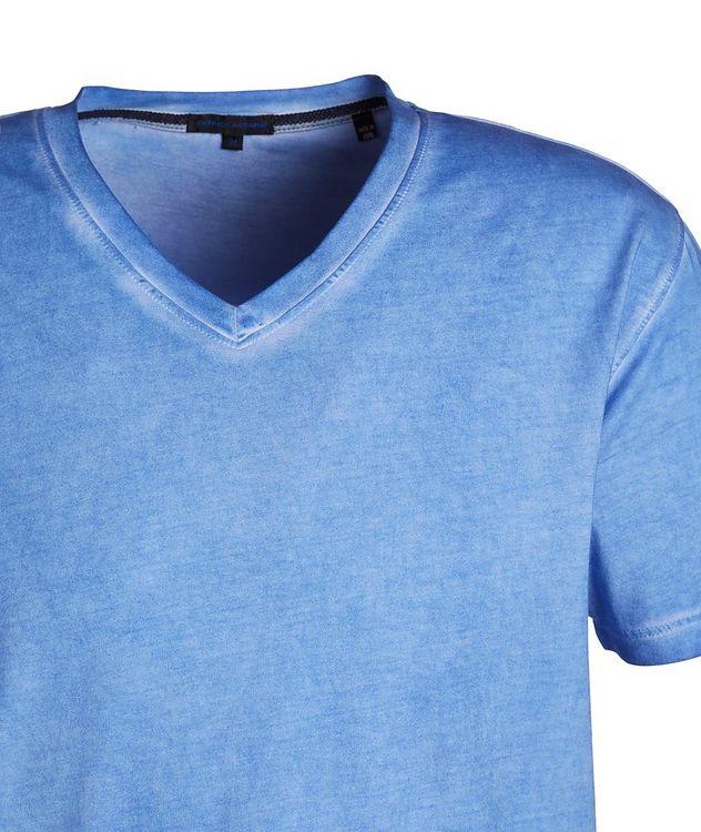 Slim Fit V-Neck T-Shirt picture 2