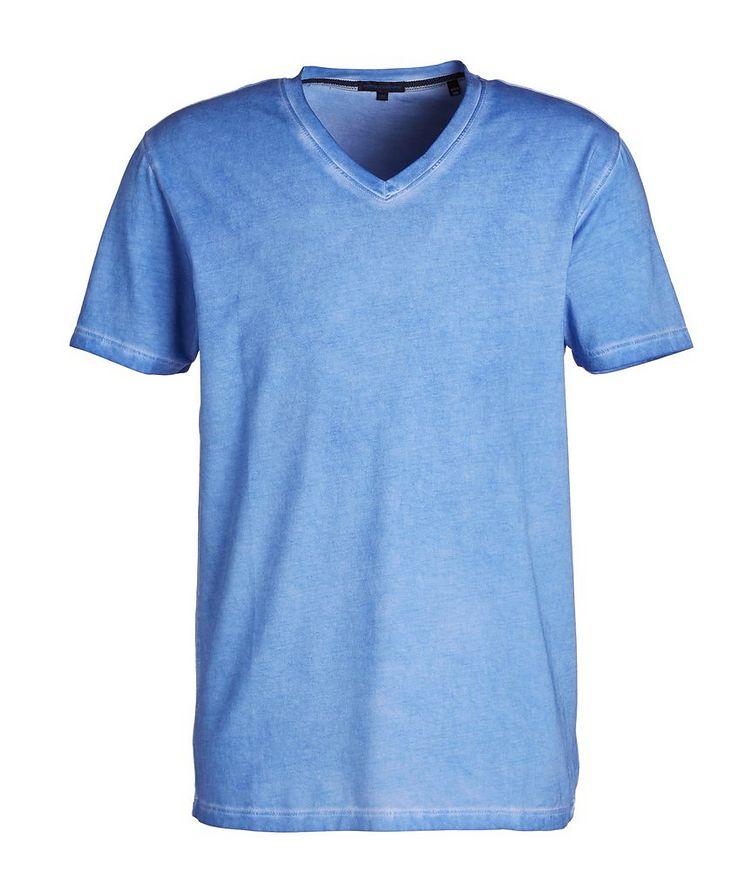 Slim Fit V-Neck T-Shirt image 0