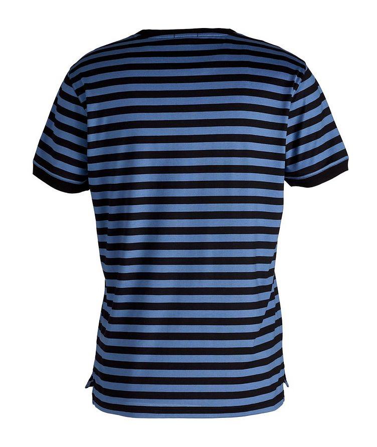 Striped Silk-Cotton T-Shirt image 1