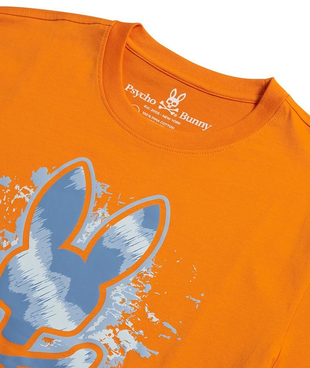 Drayton Printed Cotton T-Shirt picture 2