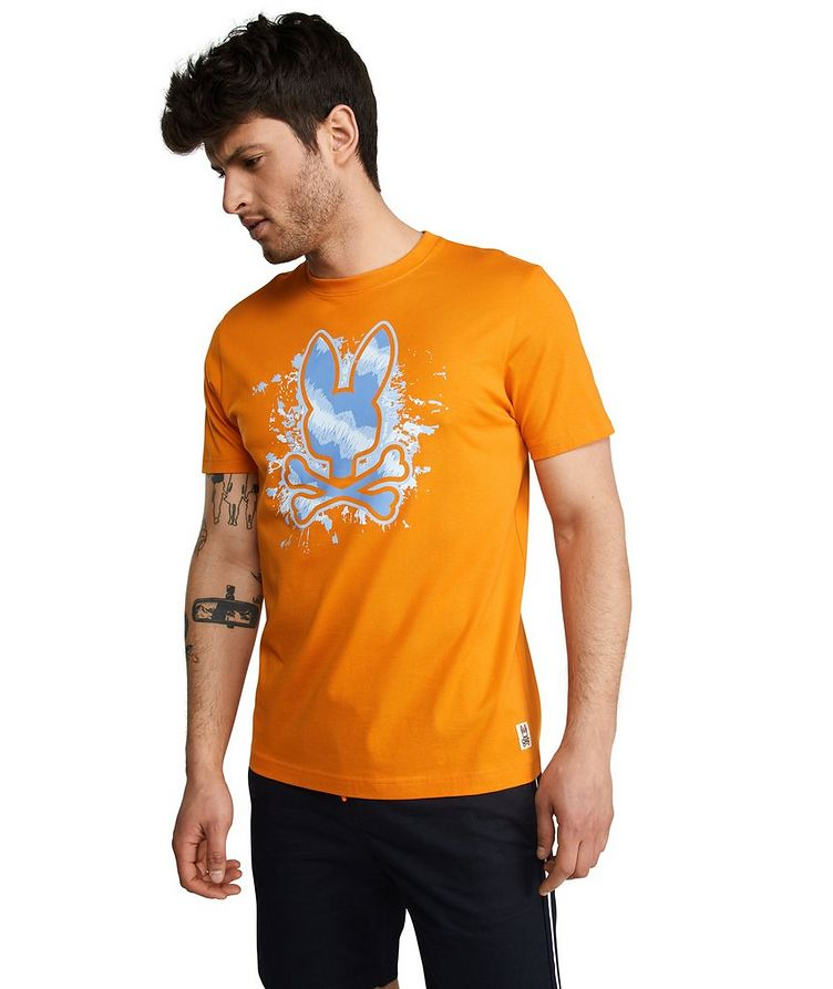 Drayton Printed Cotton T-Shirt image 2