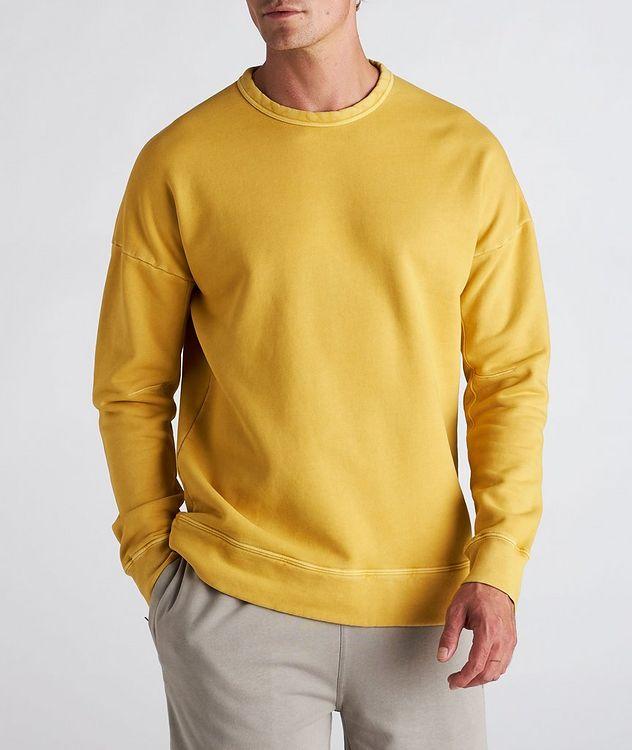 Garment Dyed Cotton Sweatshirt picture 2