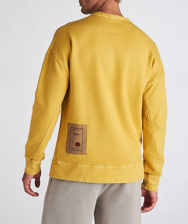 Garment Dyed Cotton Sweatshirt picture 3