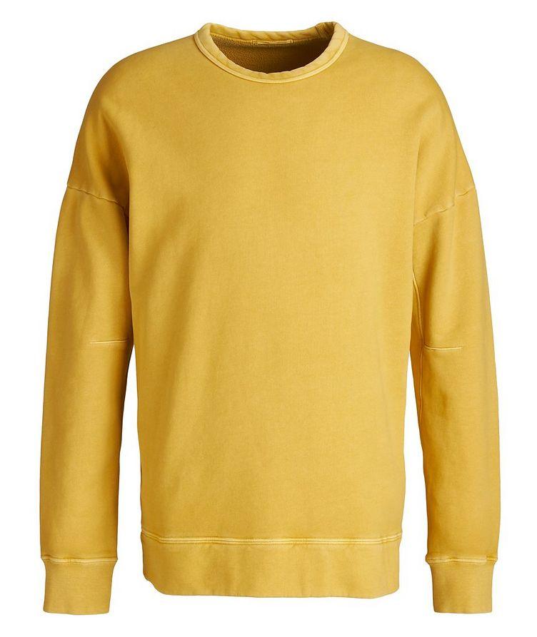 Garment Dyed Cotton Sweatshirt image 0