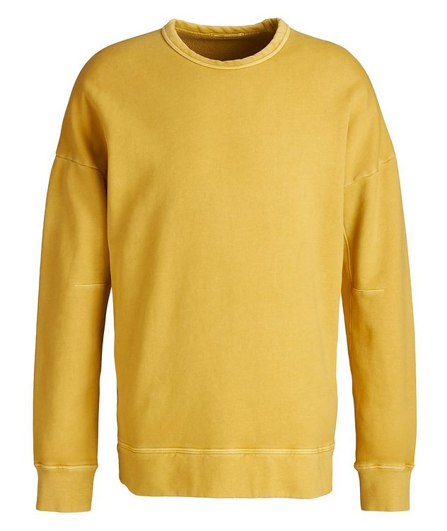 Garment Dyed Cotton Sweatshirt picture 1
