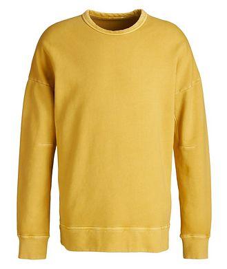 TEN C Garment Dyed Cotton Sweatshirt