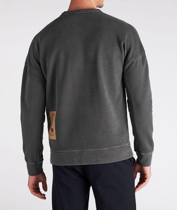 Cotton Knit Crew Neck Sweatshirt image 2