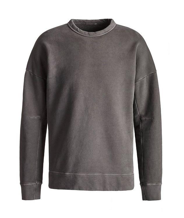 Cotton Knit Crew Neck Sweatshirt picture 1