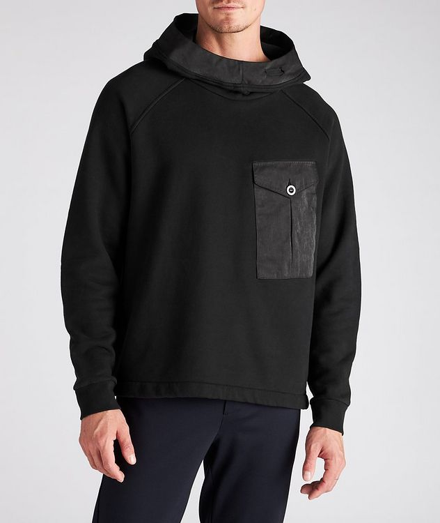 Oversized Technical Cotton-Blend Hoodie picture 2