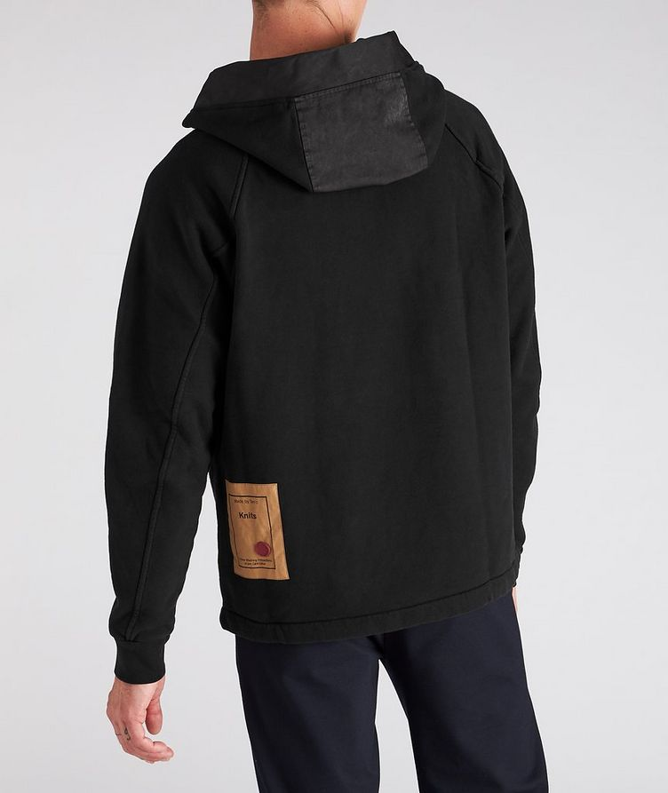 Oversized Technical Cotton-Blend Hoodie image 2