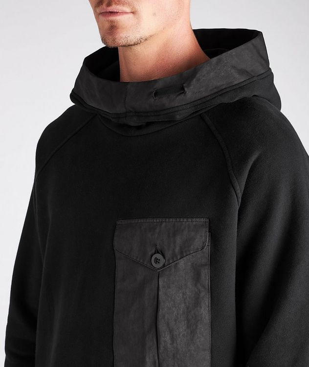Oversized Technical Cotton-Blend Hoodie picture 4