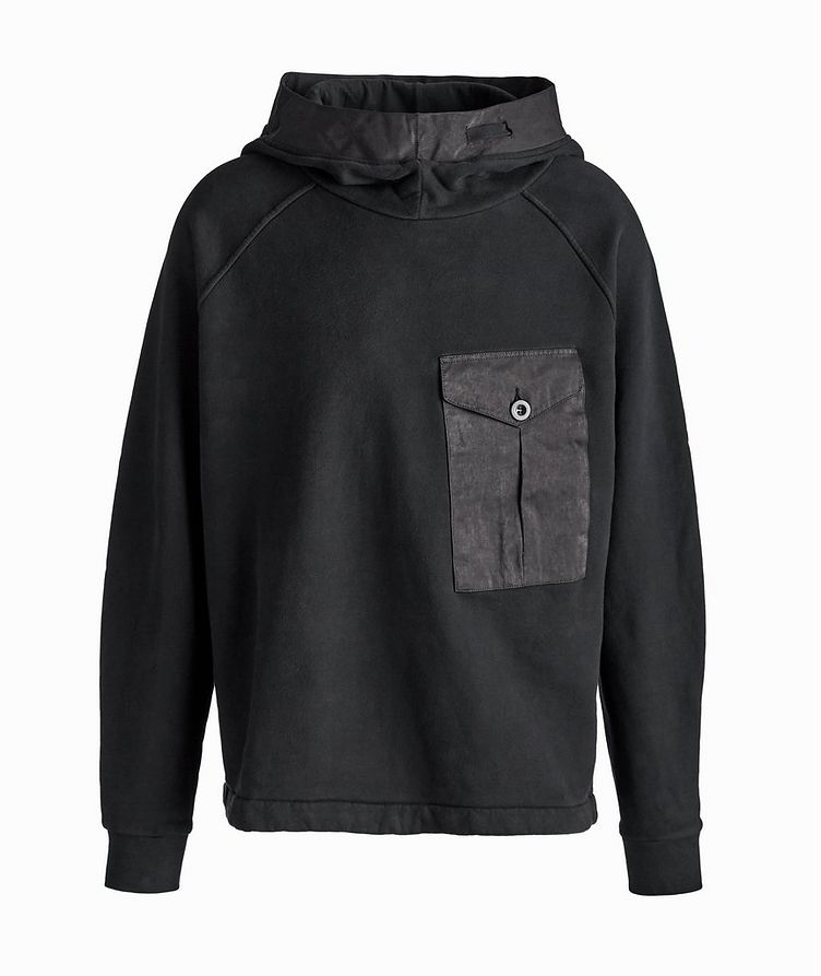 Oversized Technical Cotton-Blend Hoodie image 0