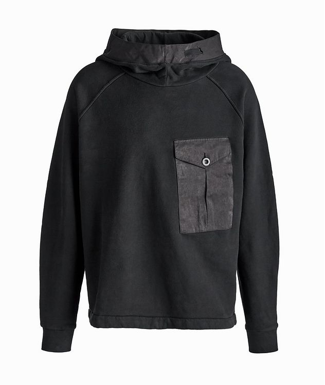 Oversized Technical Cotton-Blend Hoodie picture 1