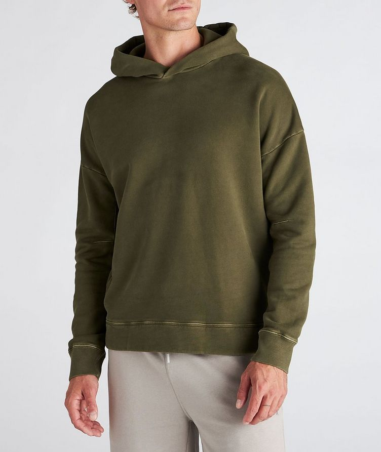 Army Green Oversized Hoodie image 1