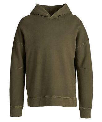 TEN C Army Green Oversized Hoodie