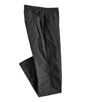 TEN C Garment-Dyed Nylon Cargo Pants