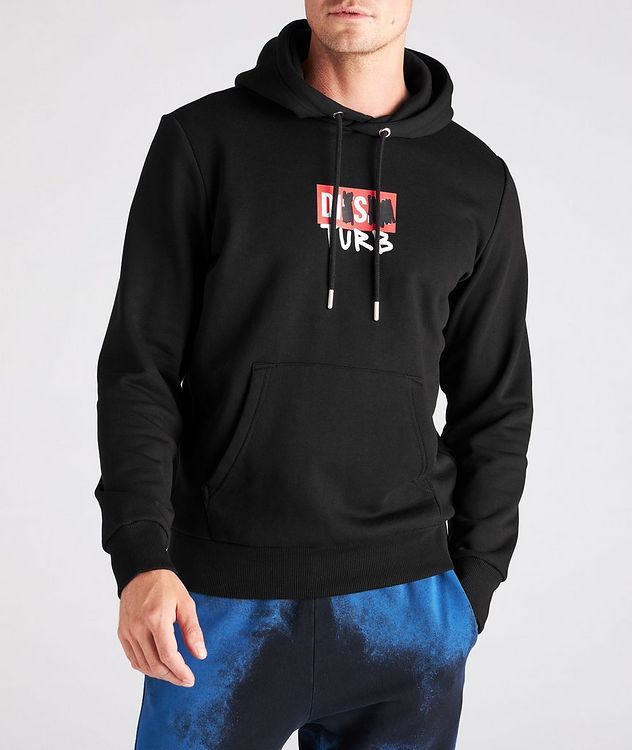Printed Logo Cotton-Blend Hoodie picture 2