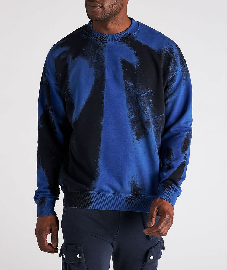Tie-Dye Cotton Sweater image 1