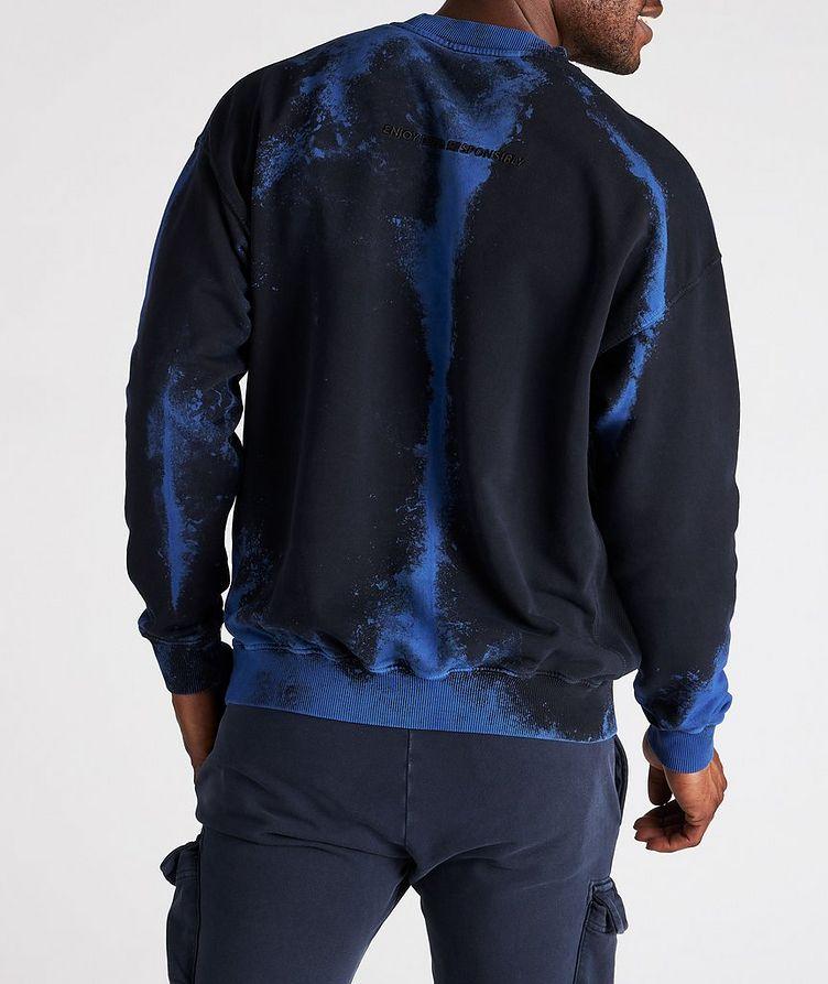 Tie-Dye Cotton Sweater image 2
