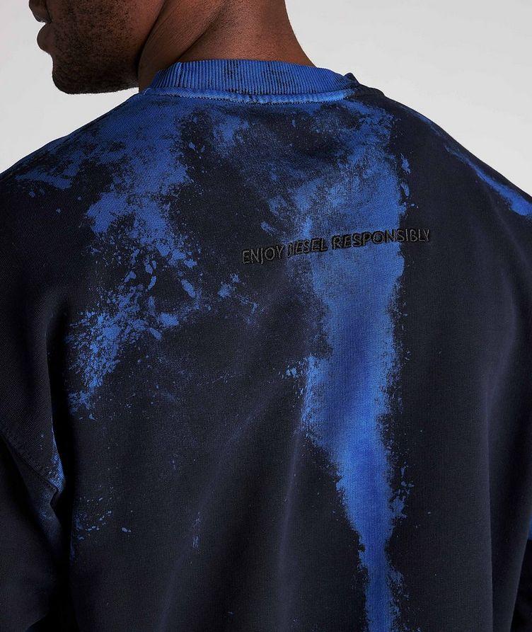 Tie-Dye Cotton Sweater image 3