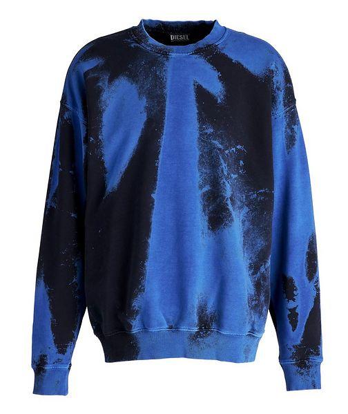 Diesel Tie-Dye Cotton Sweater