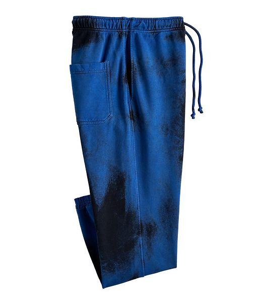 Diesel Tie-Dye Cotton Joggers