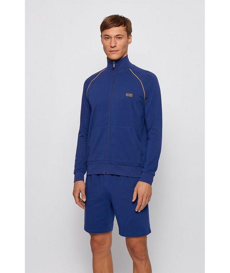 Mix & Match Zip-Up Stretch-Cotton Sweatshirt image 1