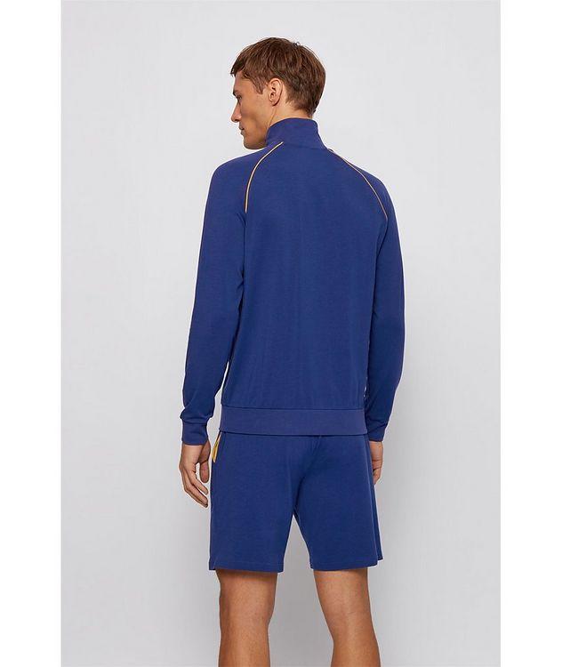 Mix & Match Zip-Up Stretch-Cotton Sweatshirt picture 3