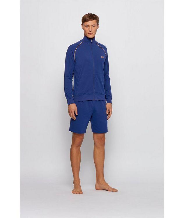 Mix & Match Zip-Up Stretch-Cotton Sweatshirt picture 6