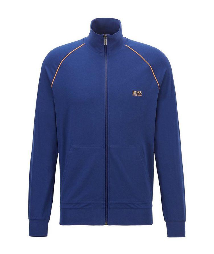 Mix & Match Zip-Up Stretch-Cotton Sweatshirt image 0