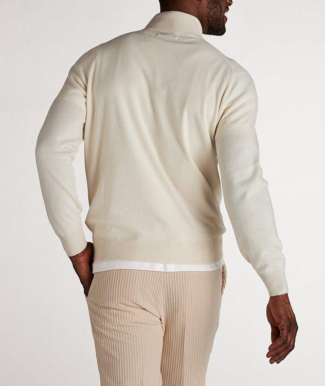 Half-Zip Cashmere Cardigan picture 3