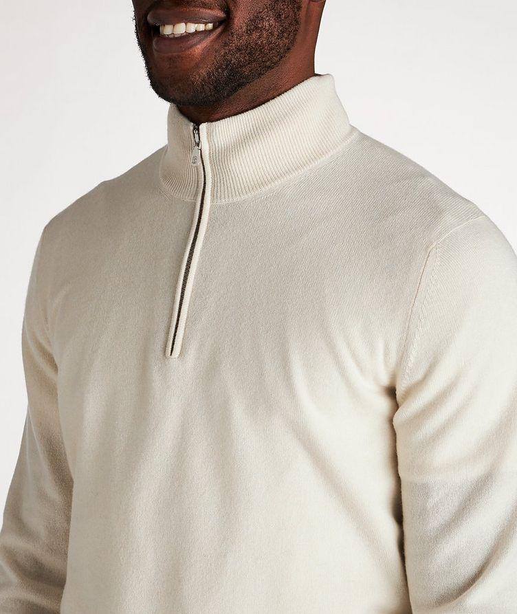 Half-Zip Cashmere Cardigan image 3