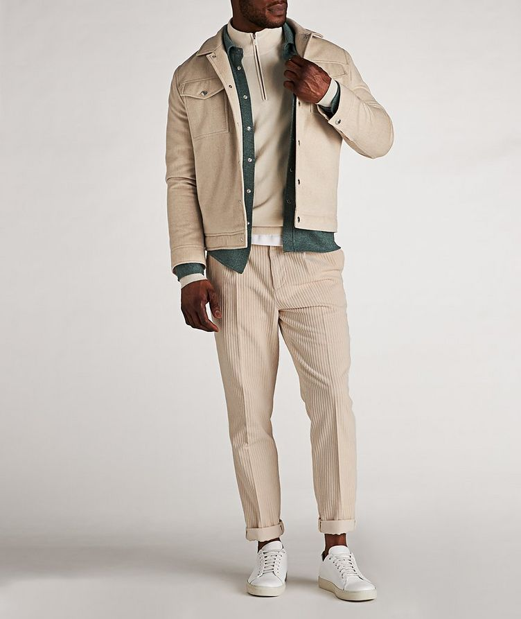 Half-Zip Cashmere Cardigan image 4