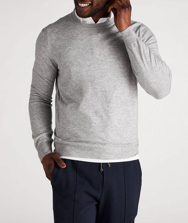 Cashmere Crew Neck Sweater picture 2