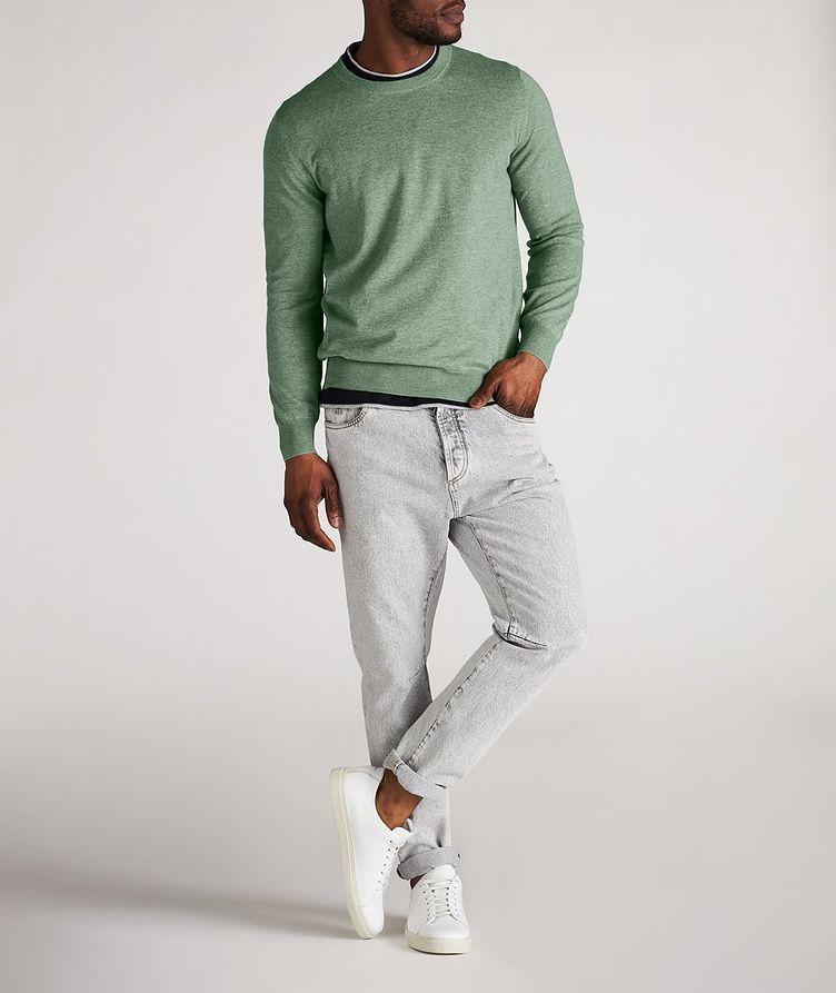 Cashmere Crew Neck Sweater image 4