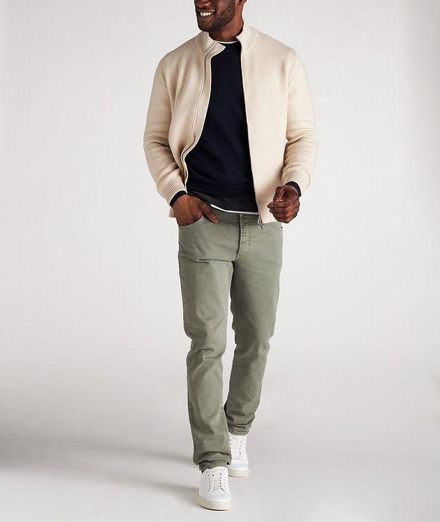 Cashmere Crew Neck Sweater picture 5