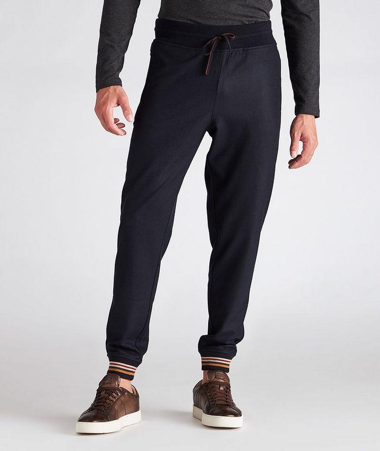 Cashmere Knit Track Pants image 1