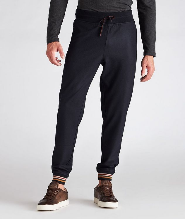 Cashmere Knit Track Pants picture 2