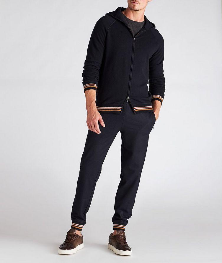 Cashmere Knit Track Pants image 4