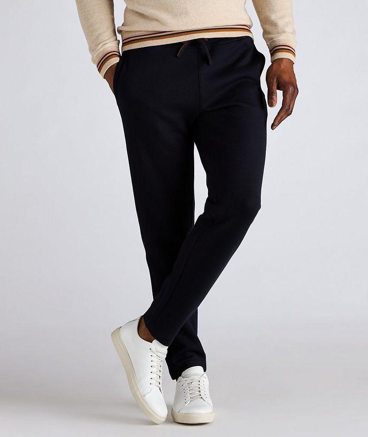 Pantalon sport en coton, soie et cachemire image 1