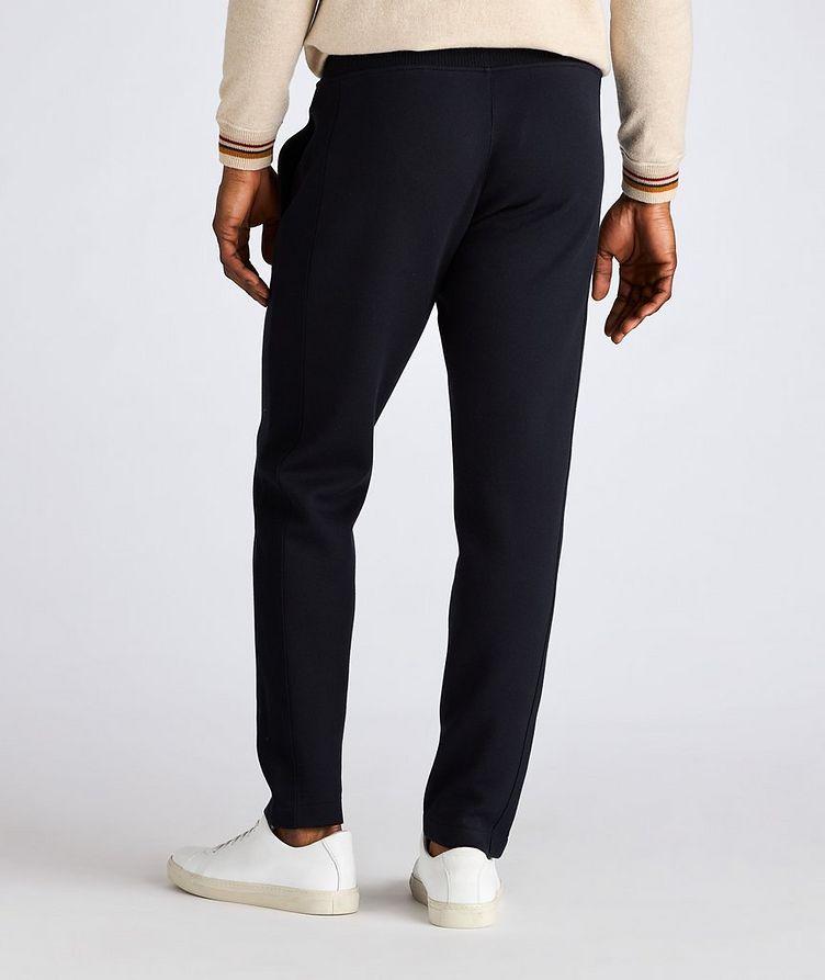 Pantalon sport en coton, soie et cachemire image 2