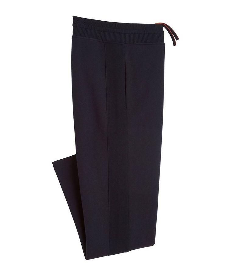 Pantalon sport en coton, soie et cachemire image 0
