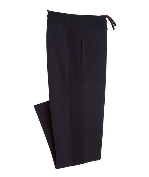Loro Piana Cotton, Silk, And Cashmere Track Pants