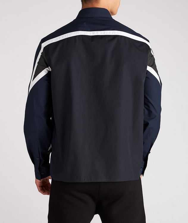 Modernist Thunderbolt Cotton Sport Shirt picture 3