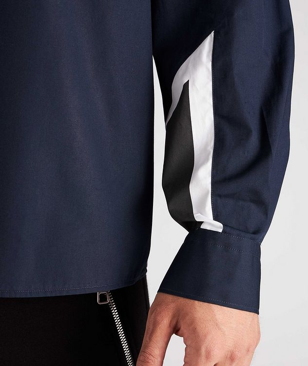 Modernist Thunderbolt Cotton Sport Shirt picture 4
