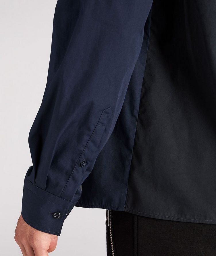 Modernist Thunderbolt Cotton Sport Shirt image 4