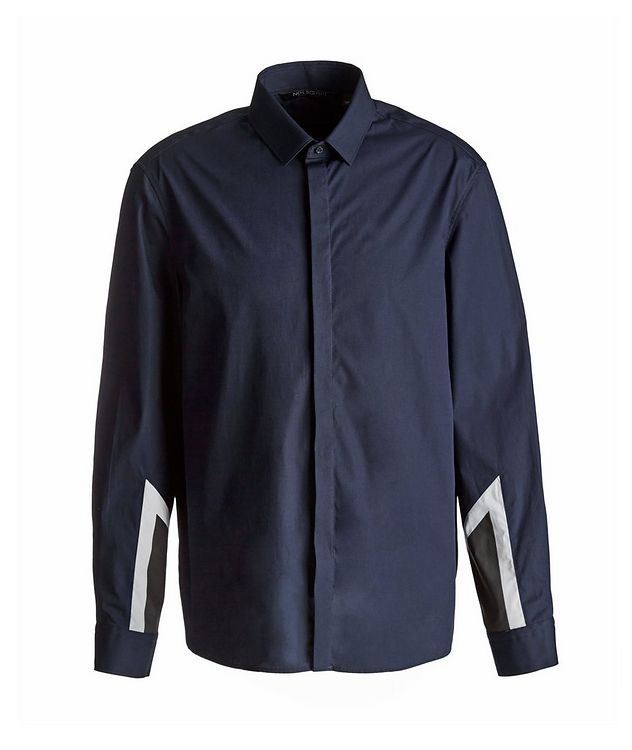 Modernist Thunderbolt Cotton Sport Shirt picture 1