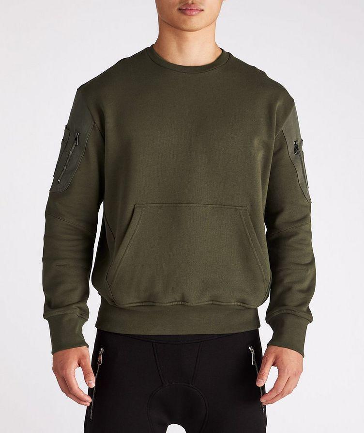 Cotton Bomber Sweatshirt image 1