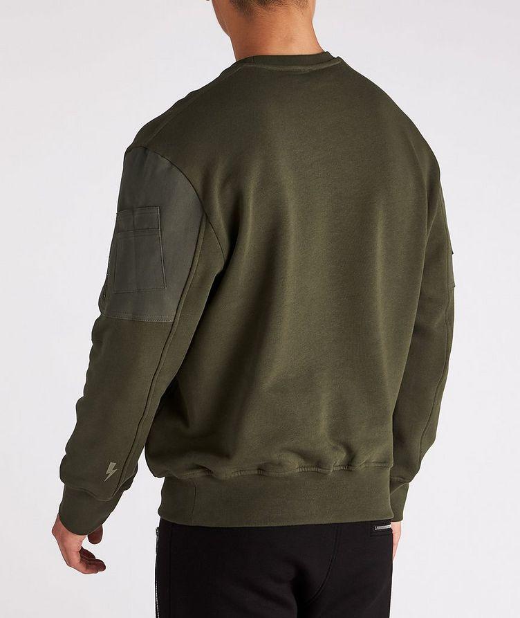Cotton Bomber Sweatshirt image 2