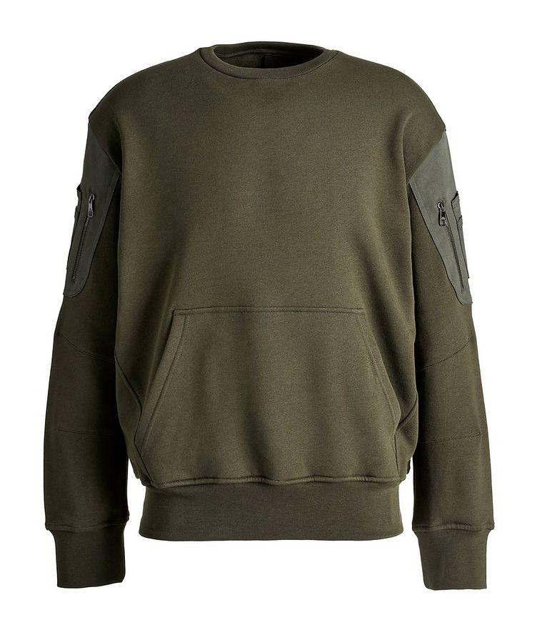Cotton Bomber Sweatshirt image 0